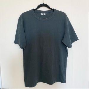 Uniqlo Gray Cotton Shirt